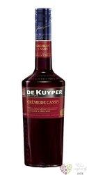 "De Kuyper "" Creme de cassis "" premium Dutch fruits liqueur 15% vol.    0.70 l"