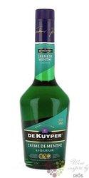 """de Kuyper """" Creme de Menthe """" premium Dutch herbal liqueur 24% vol.    0.70 l"""