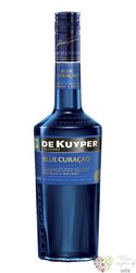 "de Kuyper "" Blue Curacao "" premium Dutch fruits liqueur 24% vol.  0.70 l"