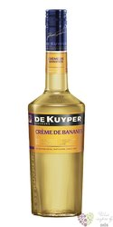 "de Kuyper "" Creme de Bananes "" premium Dutch fruits liqueur 24% vol.  0.70 l"