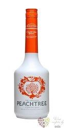 """De Kuyper """" Peach Tree """" premium Dutch fruits liqueur 24% vol.    1.00 l"""