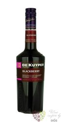"de Kuyper "" Blackberry "" premium Dutch fruits liqueur 20% vol.  0.70 l"