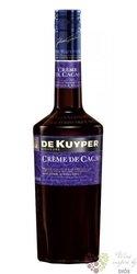 """de Kuyper """" Créme de cacao dark """" premium Dutch liqueur 24% vol.   0.70 l"""