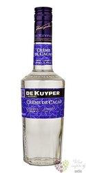 """De Kuyper """" Créme de cacao white """" premium Dutch liqueur 24% vol.   0.70 l"""
