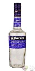 """de Kuyper """" Créme de cacao white """" premium Dutch liqueur 24% vol.  0.50 l"""