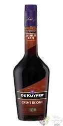 """De Kuyper """" Créme de café """" premium Dutch liqueur 24% vol.   0.70 l"""