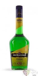 """de Kuyper """" Pisang """" premium Dutch fruits liqueur 20% vol.  0.70 l"""