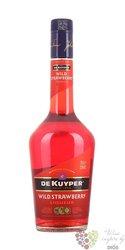 """De Kuyper """" Wild strawberry """" premium Dutch fruits liqueur 15% vol.   0.70 l"""
