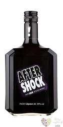 "After Shock "" Black "" Canadian spiced cranberry liqueur 30% vol.    0.70 l"