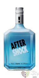 "After Shock "" Blue "" Canadian Citrus & Menthe liqueur 40% vol.    0.70 l"