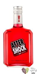 "After Shock "" Red "" Canadian cinnamon liqueur 40% vol.   0.70 l"