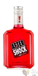"After Shock "" Red "" Canadian cinnamon liqueur 40% vol.   0.50 l"
