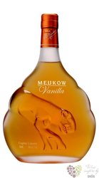 "Meukow "" VS Vanilla "" French Cognac liqueur 30% vol.   0.70 l"
