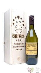 "Chartreuse "" V.E.P. Jaune "" aged 8 years French herbal liqueur 42% vol.  1.00 l"