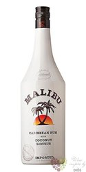 "Malibu "" Original "" Caribbean rum with coconut 21% vol.  0.05 l"