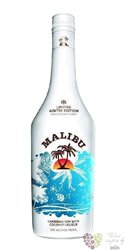 "Malibu "" Snow Coco flakes "" Caribbean rum with coconut 21% vol.  1.00 l"