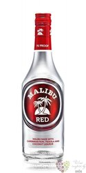 "Malibu "" Red "" Caribbean rum & tequila with coconut 35% vol.  0.70 l"