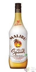 """Malibu """" Island spiced """" original Caribbean flavored rum 35% vol.    0.70 l"""