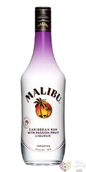 "Malibu "" Passion Fruit "" flavored caribbean rum 21% vol.  0.70 l"