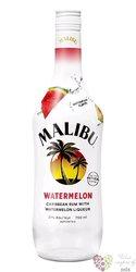 """Malibu """" Mango """" original Caribbean flavored rum 21% vol.  1.00 l"""