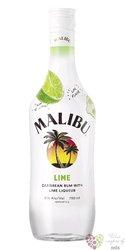 """Malibu """" Pineapple """" original Caribbean flavored rum 21% vol.  1.00 l"""