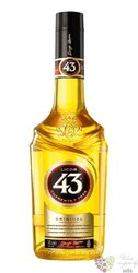 Licor 43 Cuarenta Y Tres Spanish ancient liqueur by Diego Zamora 31% vol.    0.05 l