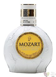"Mozart "" White "" original Austrian chocolate cream liqueur 15% vol.    0.70 l"