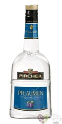 "Pircher "" Pflaumen "" plum brandy from South Tyrol 40% vol.     0.70 l"