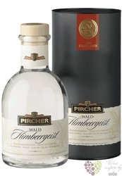 "Pircher "" Waldhimbeergeist "" gift tube South Tyrol Raspberry brandy 40% vol.  0.70 l"