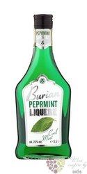 Burian Peprmint cool mint Czech liqueur 20% vol.    0.50 l