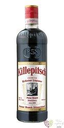 Killepitsch German herb liqueur by Peter Busch 42% vol.   0.05 l