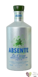 "Absente "" la Créma "" original French Absinthe & cream liqueur 18% vol.    0.70 l"