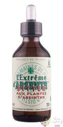 """Absente """" Extreme bitter """" Aux Plantes d´Absinthe 70% vol.  0.10 l"""