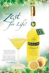 Limoncello traditional Italian lemon liqueur by Pallini 26% vol.     1.00 l