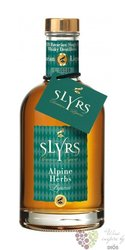 "Slyrs "" Alpine "" Bavarian single malt whisky liqueur 30% vol.    0.70 l"