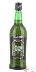 "Crabbies "" Green "" ginger wine of England 13.5% vol.    0.70 l"
