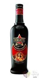 Borghetti Caffé original Italian liqueur by fratelli Branca 25% vol.  0.70 l