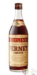 Fernet herbal liqueur Rudolf Jelínek 38% vol.  0.70 l