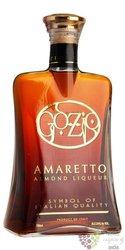 """Amaretto """" Gozio """" Italian almond liqueur by distileria Franciacorta 24% vol.  1.00 l"""