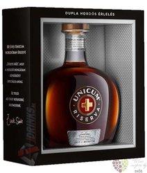 "Unicum "" Riserva "" Hungarian herbal liqueur by Zwack 40% vol.  0.70 l"
