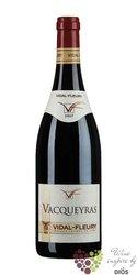 Vacqueyras rouge Aoc 2015 J.Vidal - Fleury     0.75 l