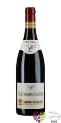 Chateauneuf du Pape rouge Aoc 2012 J.Vidal - Fleury     0.75 l