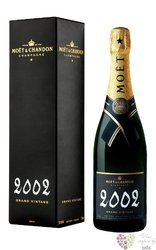 "Moët & Chandon blanc 2002 "" Grand vintage "" brut Champagne Aoc  0.75 l"