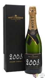 """Moët & Chandon blanc 2009 """" Grand vintage """" brut gift box Champagne Aoc  0.75 l"""
