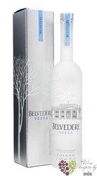 """Belvedere """" Pure """" gift box premium Polish vodka 40% vol.     0.70 l"""
