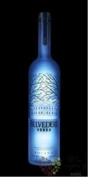 "Belvedere "" Midnight Sable "" premium Polish vodka 40% vol.   1.75 l"