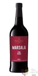 """Marsala """" fine Rubino """"  Doc dolce Carlo Pellegrino 18% vol.    0.75 l"""
