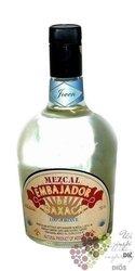 """Embajador de Oaxaca """" Joven con Agave """" 100% of agave Mexican mezcal 40.6% vol.0.70 l"""