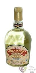 """Embajador de Oaxaca """" Reposado """" de Linea 100% de Agave Mexican Mezcal 40% vol.0.70 l"""