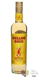 Gusano Rojo original 100% of agave Mexican Mezcal 38% vol.    0.70 l
